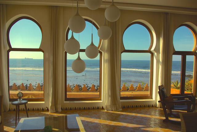 villa chambre vue mer
